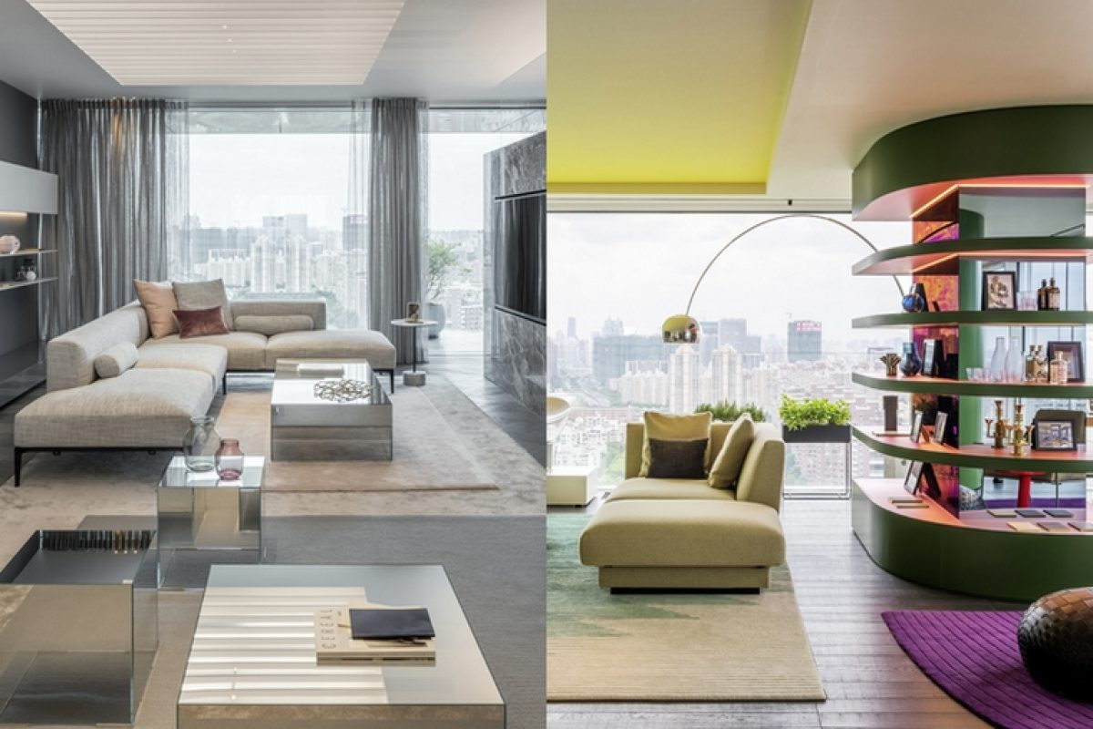 Ippolito Fleitz Group and CEG present their new project in Shanghai: Shades of Grey and Chromatic Spaces. Two amazing show apartments
