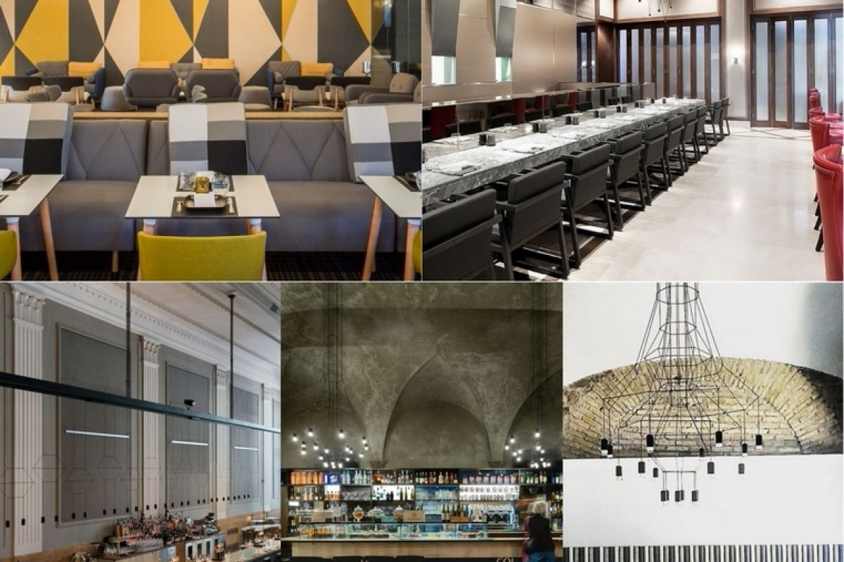 Five restaurants that have chosen VIBIA lamps to stand out from the others