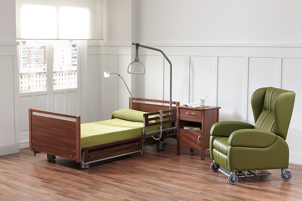 ND Mobiliario y Equipamiento Integral develops a new functional and comfortable geriatric bed, adapted to the needs of Alzheimer's patients