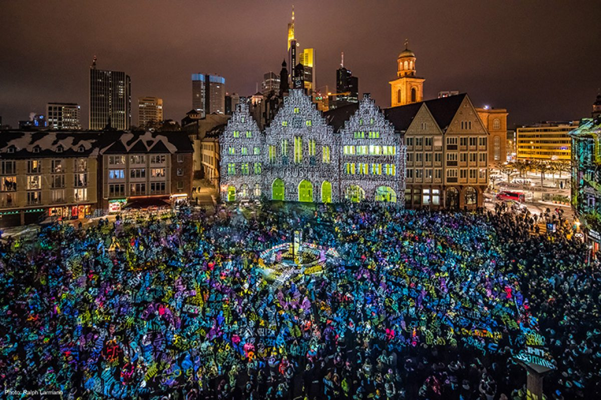 Light Art and Urban Design invade Frankfurt  in a successful edition of the Luminale festival focused on sustainability
