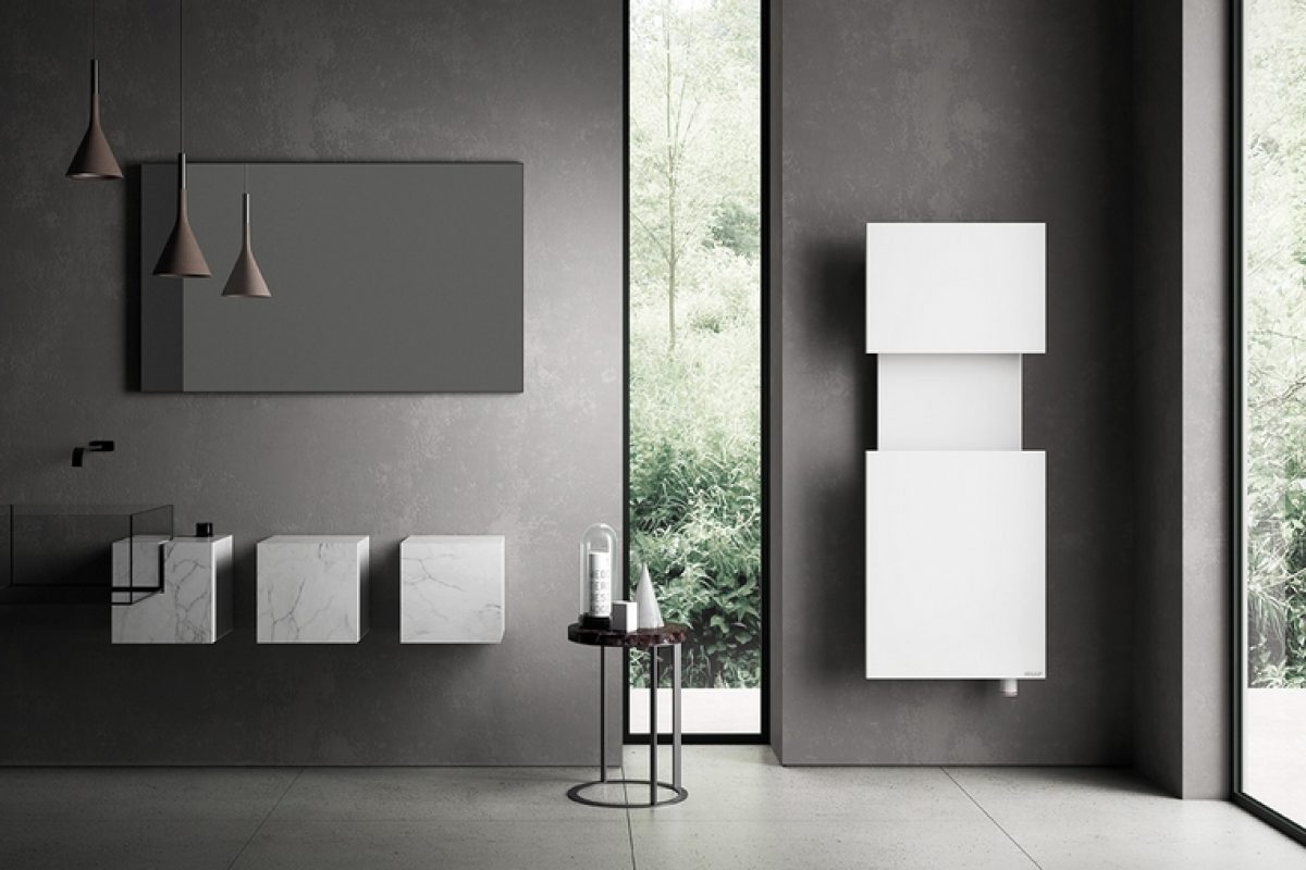 Angeletti & Ruzza designed M'AMA for IRSAP: a functional radiator that satisfies the aesthetic and emotional criteria