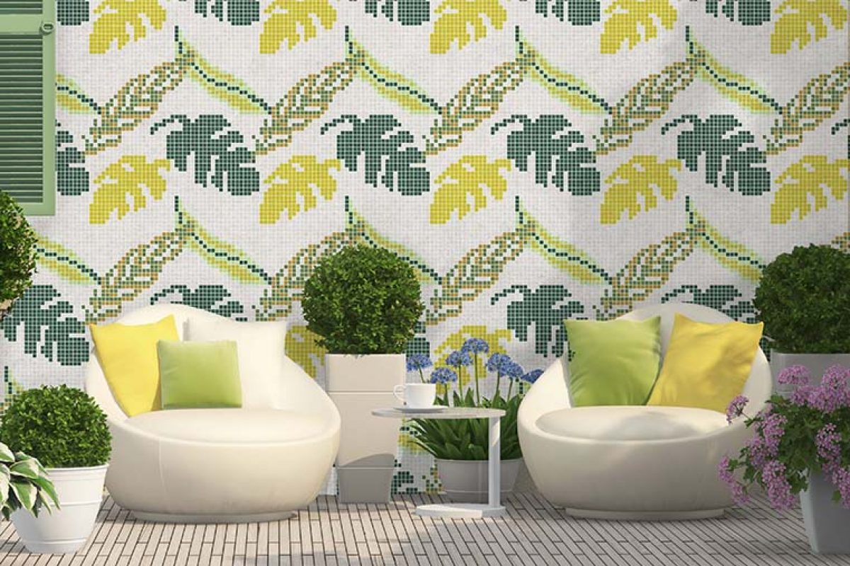 An explosion of color reaches the floors and walls this spring with the novelties by Hisbalit