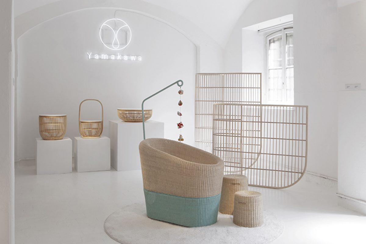 Yamakawa and its new collection of furnishings: the lightness of coreless beauty