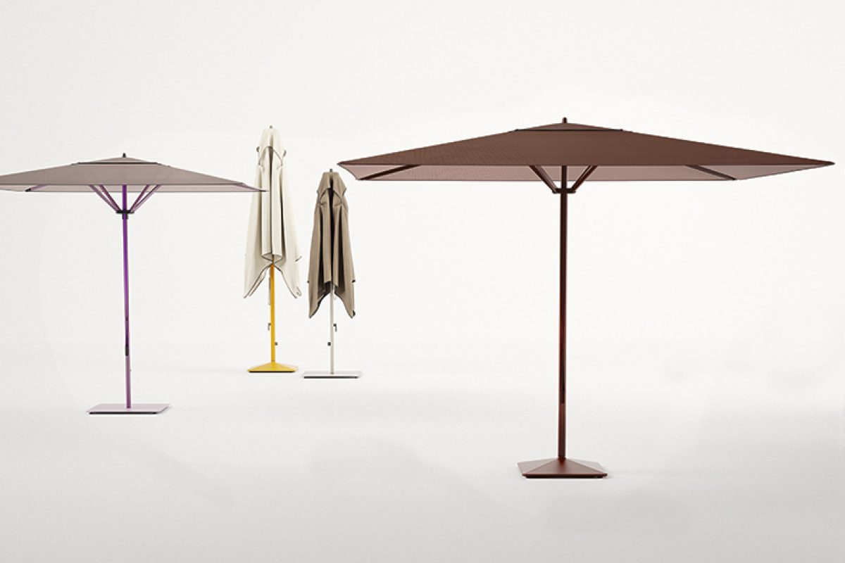 Meteo by Konstantin Grcic for Kettal. The evolution of contemporary parasols