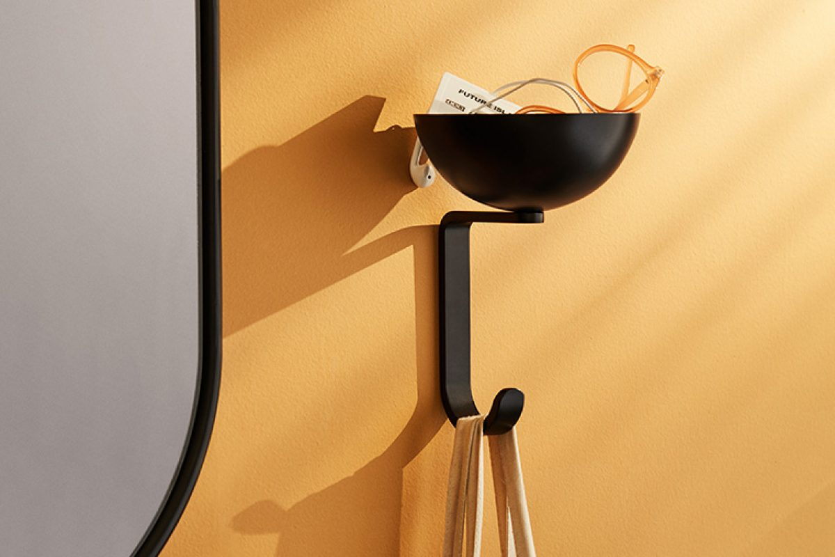 Nest wall hook by Stine Aas for Northern. The importance and functionality of small accessories in home
