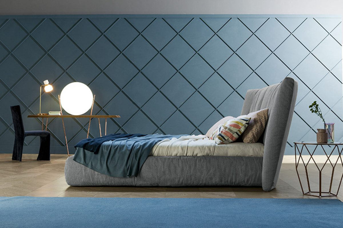 The new Bonaldo's beds designed by Mauro Lipparini. Visually stunning, elegant and comfortable