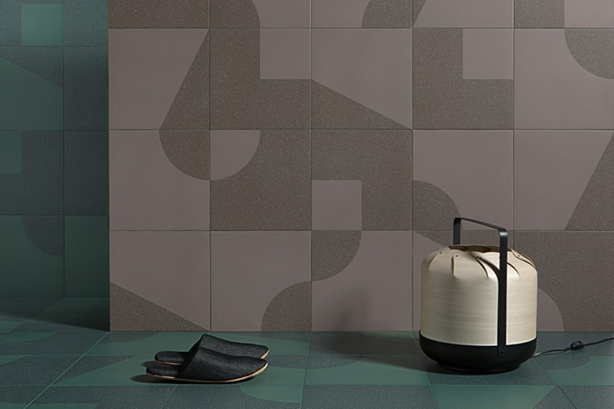 Yonoh designed Jasper for Harmony. The perfect porcelain combination of textures and geometric shapes