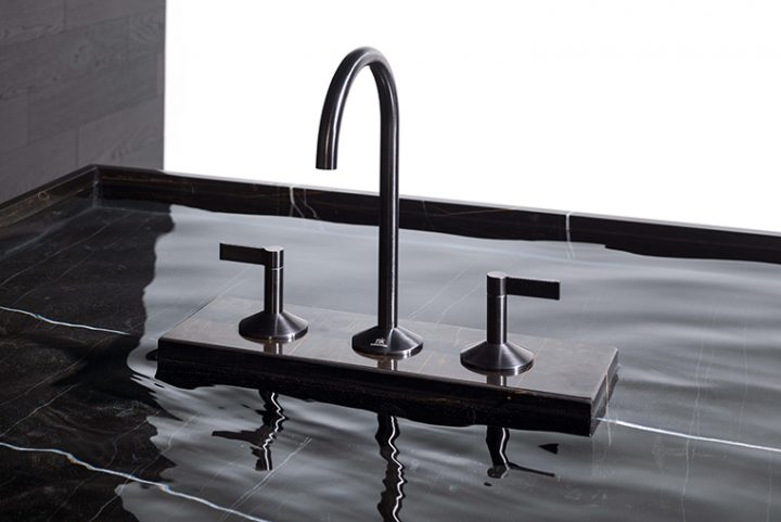 Lignage, the elegant faucet collection for the bathroom designed by Ramon Esteve for Noken