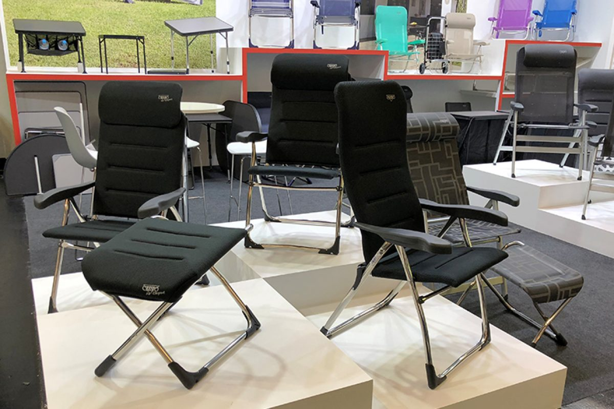 Crespo reveals its novelties at Spoga+Gafa. The latest for camping, beach and outdoor of the Spanish model