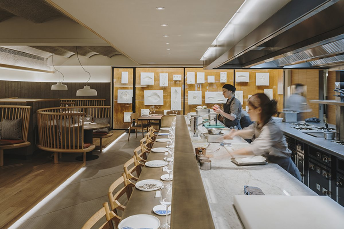 Lagranja designs Pur, the new restaurant of Nandu Jubany chef in Barcelona where the Art of Cooking takes Centre Stage