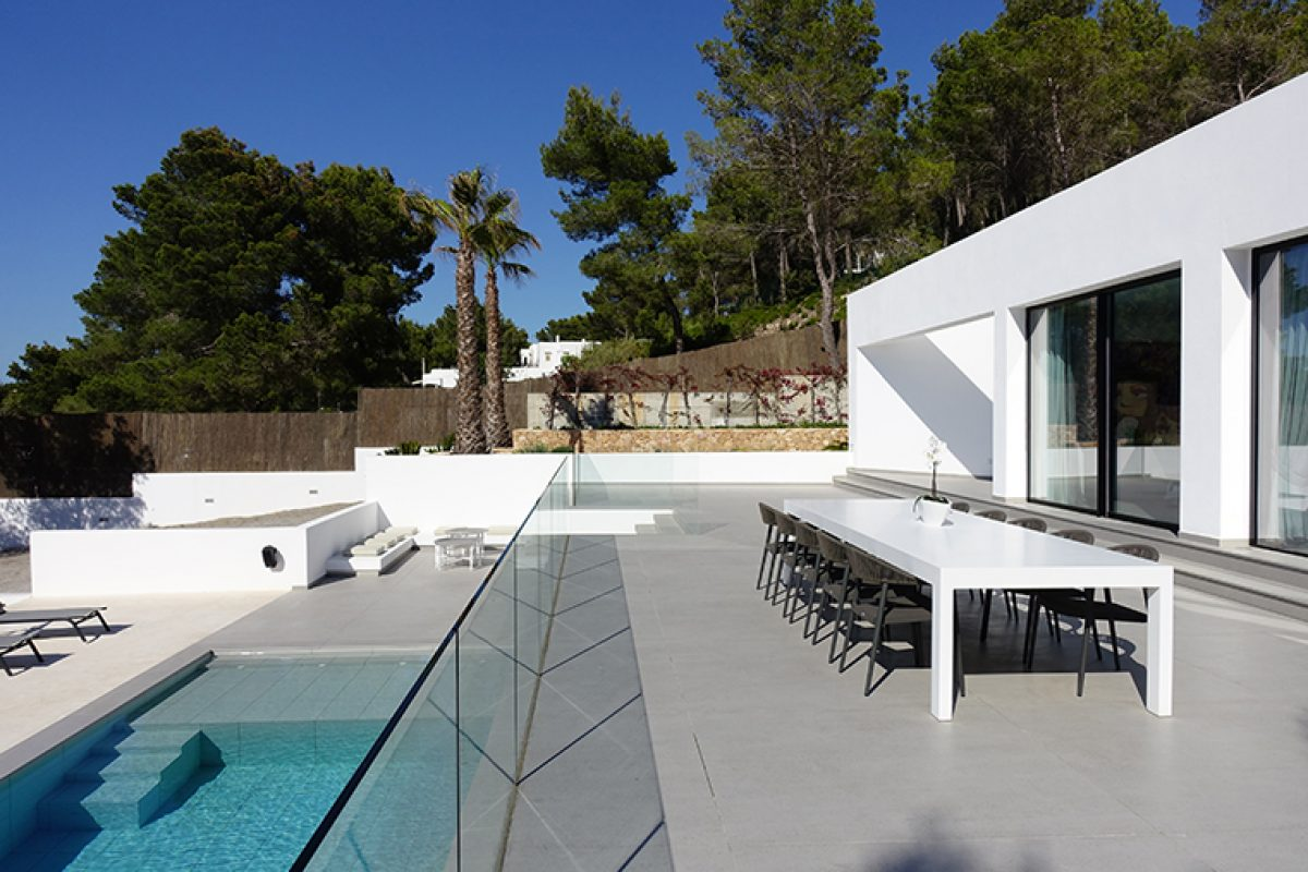 Case Studies: Spectacular Villa Omnia in Ibiza with Dekton® and Silestone® designed by Jano Blanco