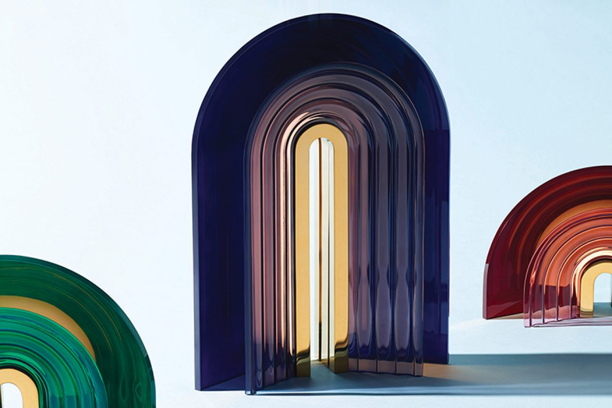 Chromo Lamp by Mut Design Lifts Spirits with Chromotherapy. Now available in Wallpaper* Store