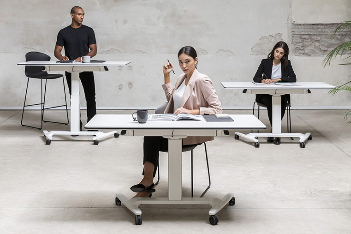 Talent of Actiu, the new tables programme designed by Alegre Design that create talent