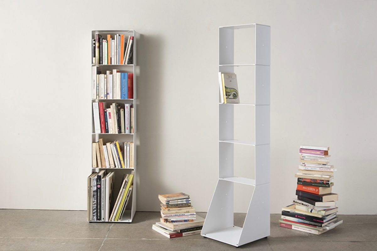 Biblio-TEE, the new modular shelf system by TEEbooks