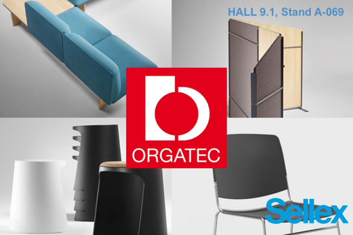 The latest by Sellex will be shown at Orgatec 2018. Designs by Mario Ruiz, ITEMdesignworks and Stephen Philips (ARUP)