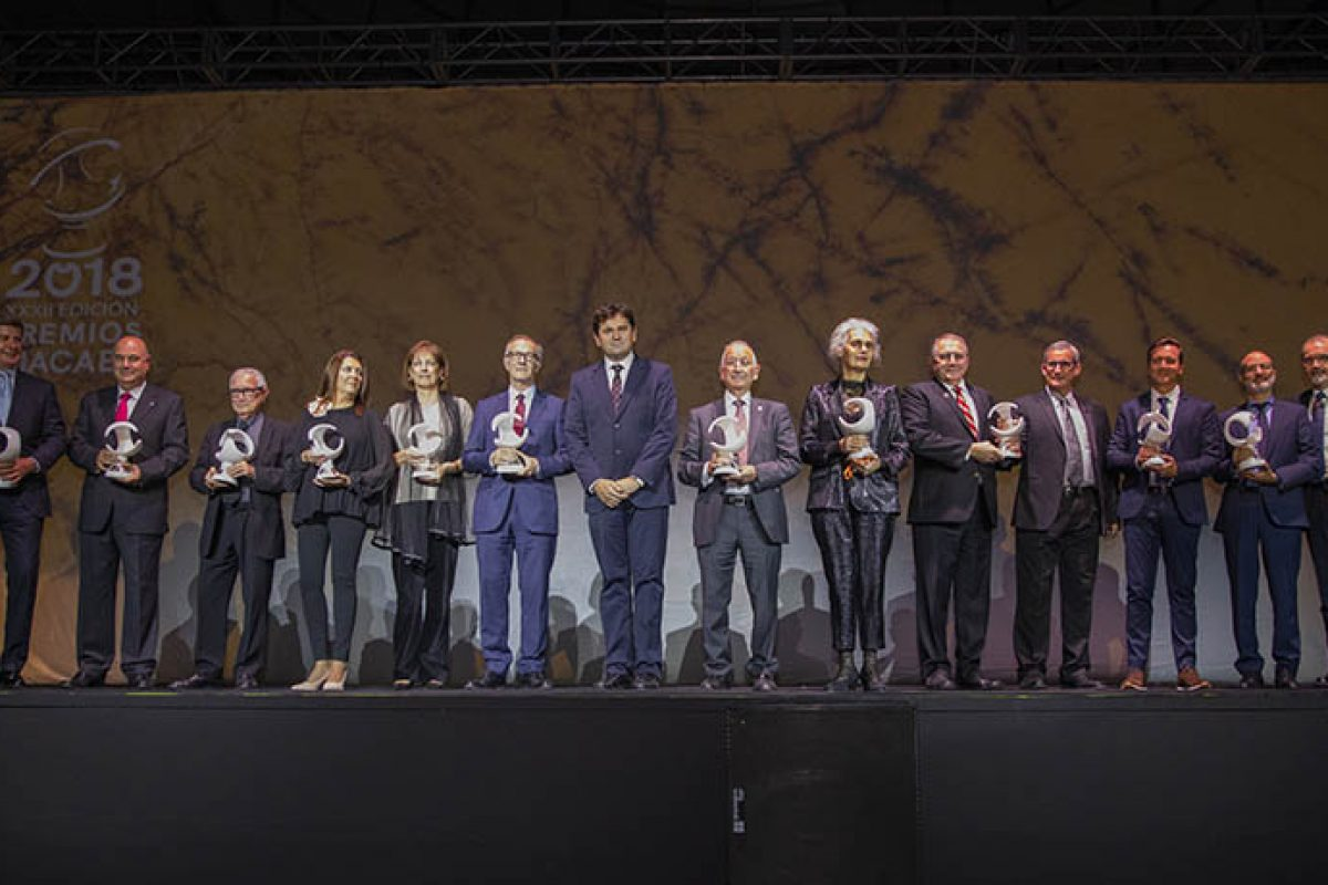 Macael Awards 2018 handed out in a ceremony that promotes the unity, cooperation, commitment and innovation of the marble industry
