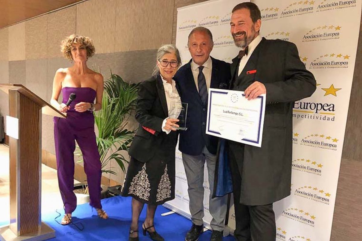 LZF Lamps awarded with European Prize for Business Management and Innovation