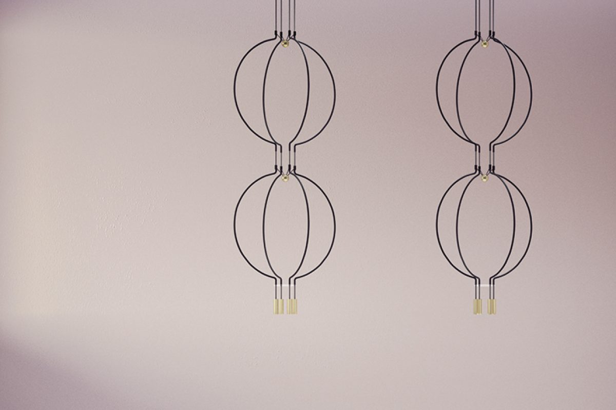 Liaison by Sara Moroni for Axolight. A modular collection for a unique light