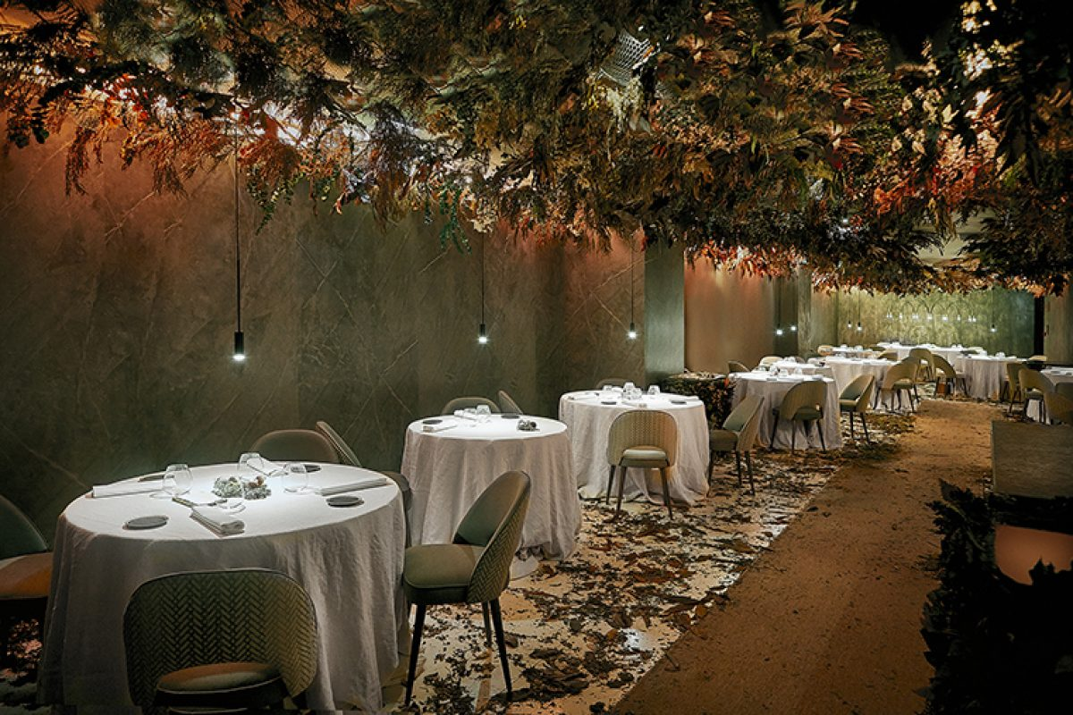 In Residence moves the Mirazur restaurant to Madrid this autumn. An ephemeral space designed by María Villalón Studio