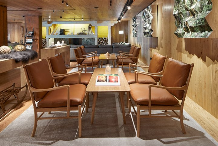 Danish design blends with the Pyrenees: Carl Hansen & Son furnishes the Sport Hotel Hermitage & Spa in Soldeu