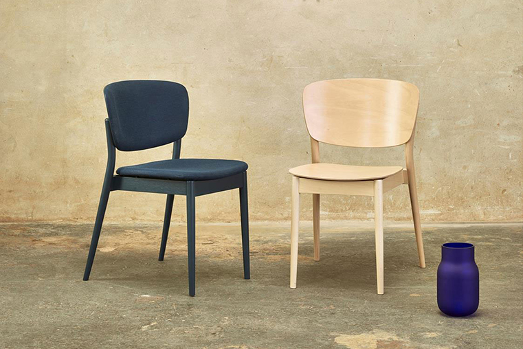 Yonoh creates Valencia for the Czech company TON, a chair designed for being a classic