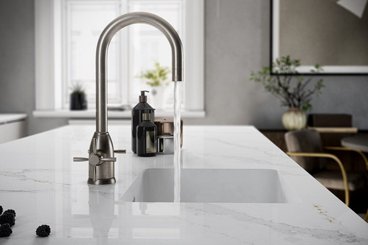 Integrity Q kitchen sink by Silestone®, for those who seek elements and details to create a unique kitchen