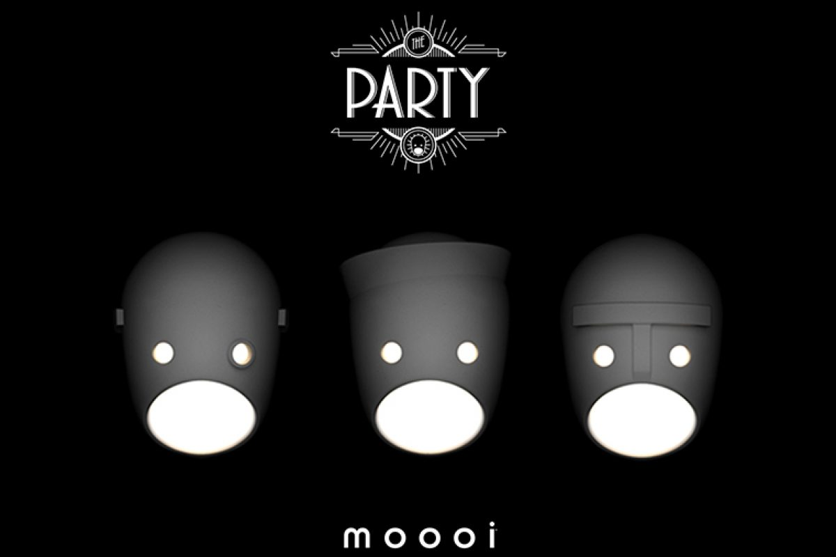 The Party, the wall lamps designed by Kranen/Gille for Moooi that bring out our most hidden side