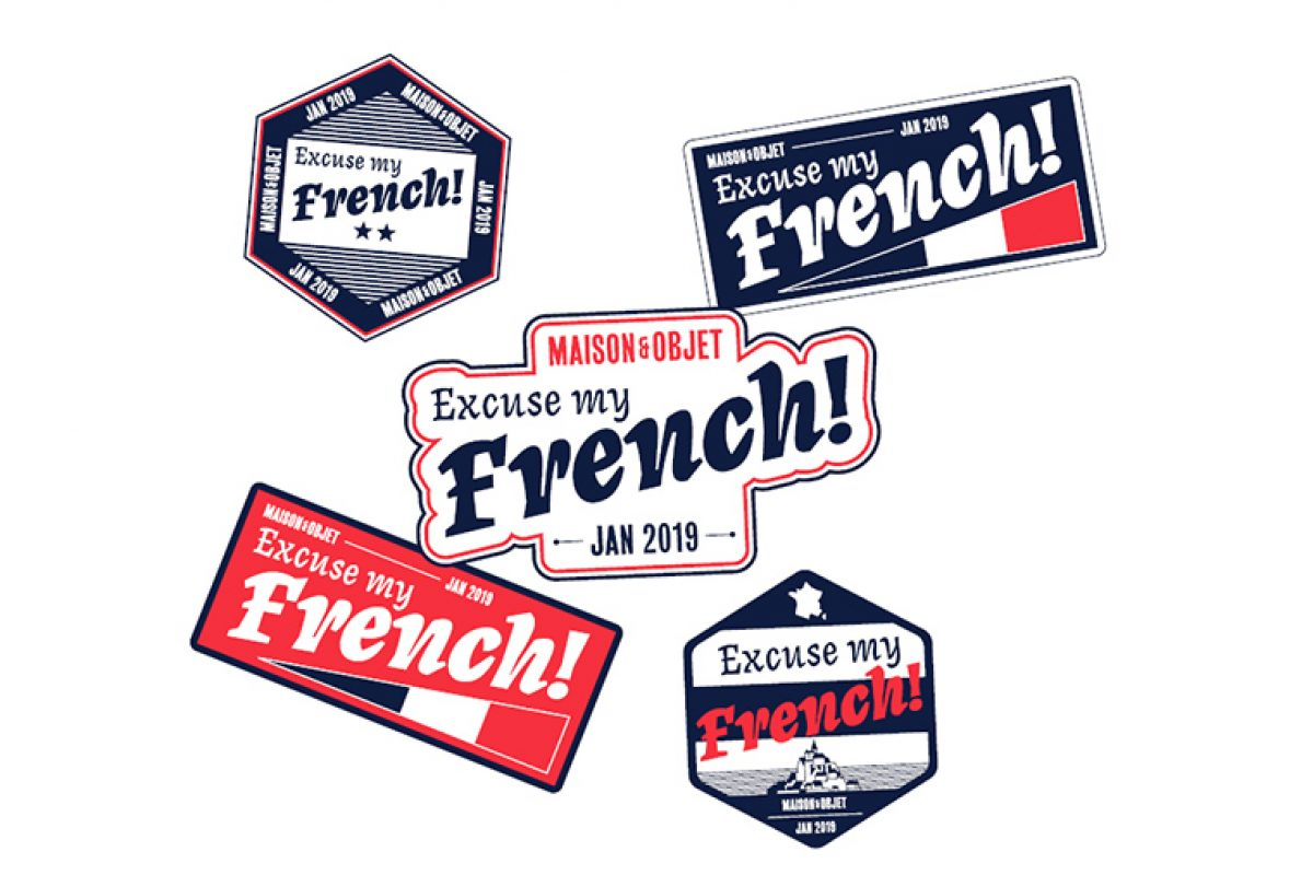 "Agence NellyRodi presents ""Excuse My French"": the inspiration theme at Maison&Objet Paris January 2019"