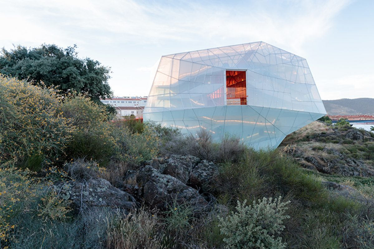 Plasencia Convention Centre by Selgascano, breaking molds with a futuristic spaceship