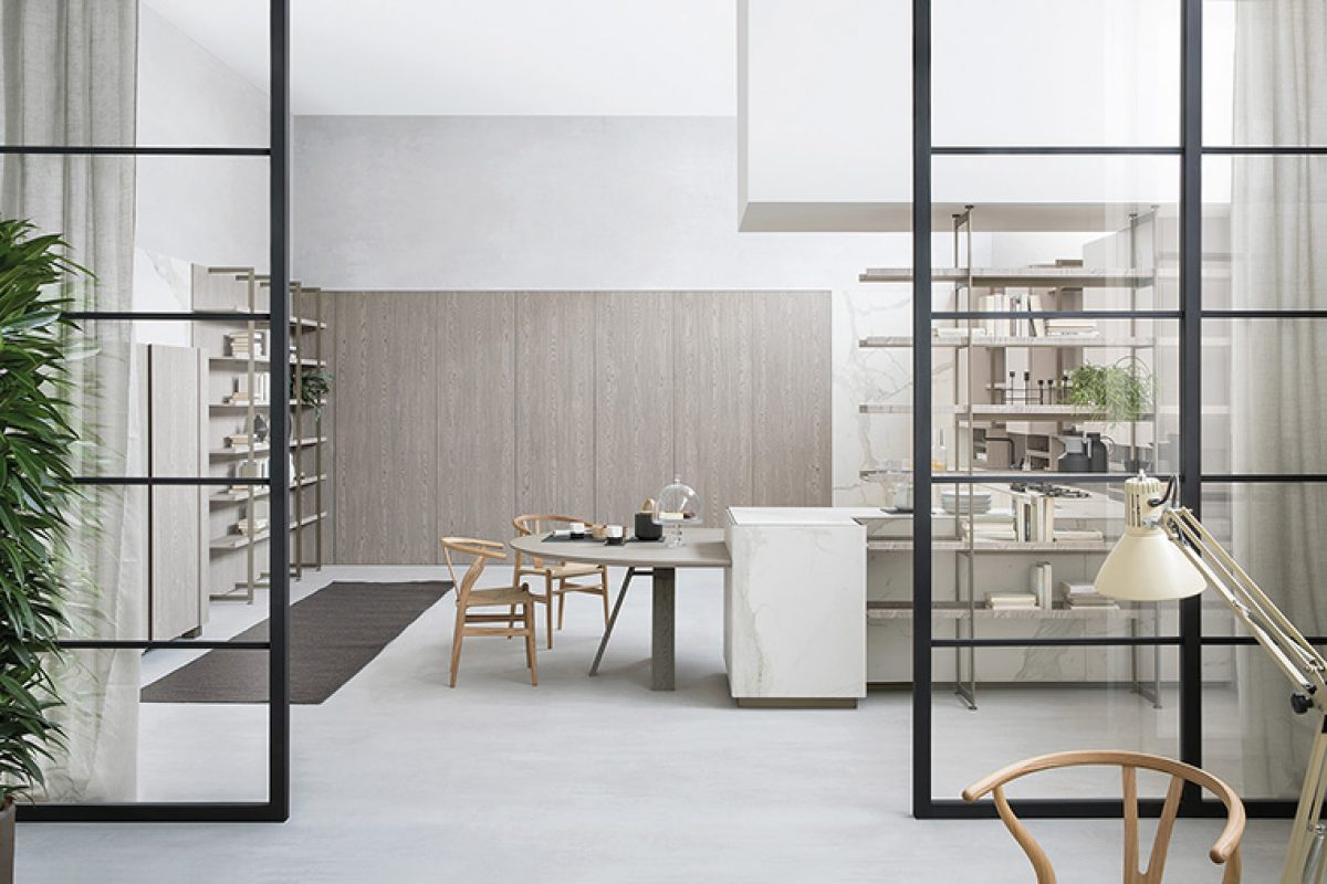 Livingkitchen 2019 Preview: Segni kitchen by Stefano Cavazzana for Zampieri. Beauty to be shared
