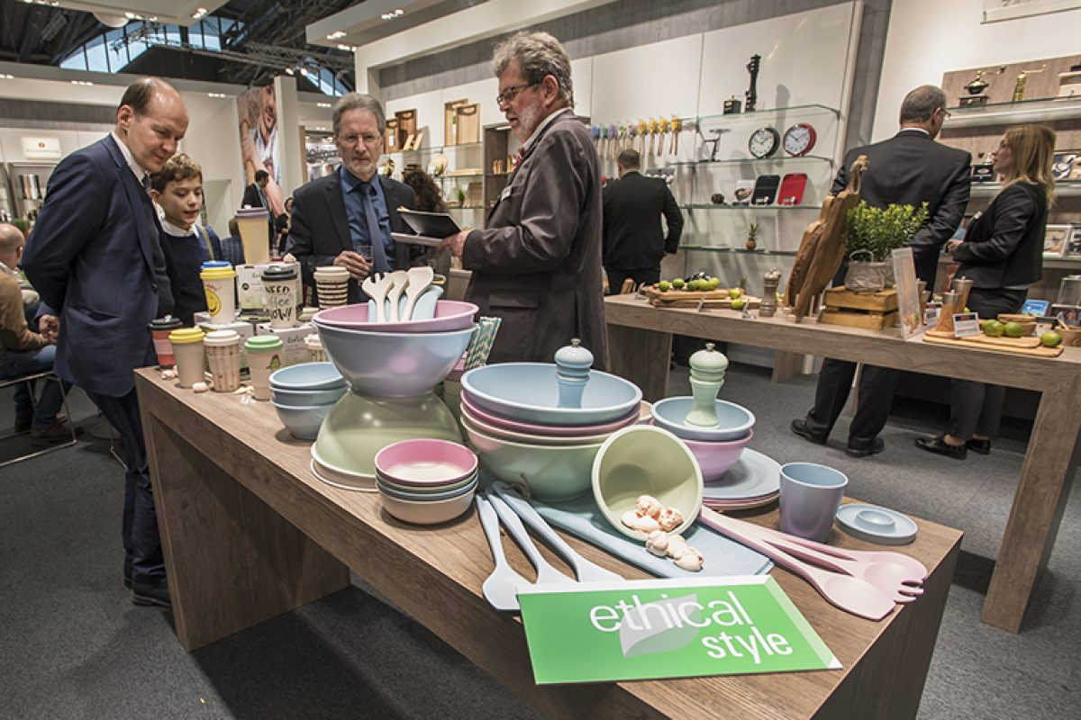 Ambiente 2019 «stands out» more than 200 exhibitors as the most «sustainable»
