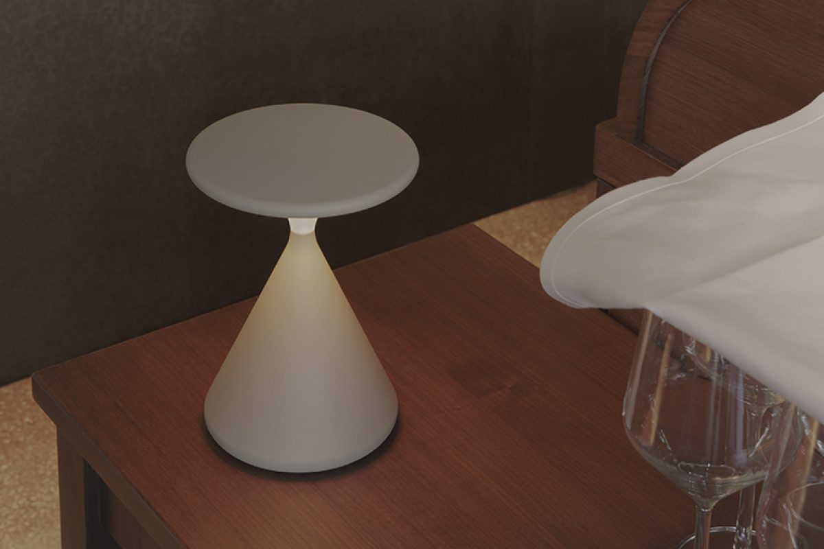 Salt & Pepper portable lamp by Tobias Grau. A centerpiece for any setting