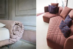 Double win for Bonaldo at the Good Design® 2018: The Panorama sofa by Fabrice Berrux and the Blanket bed by Alessandro Busana