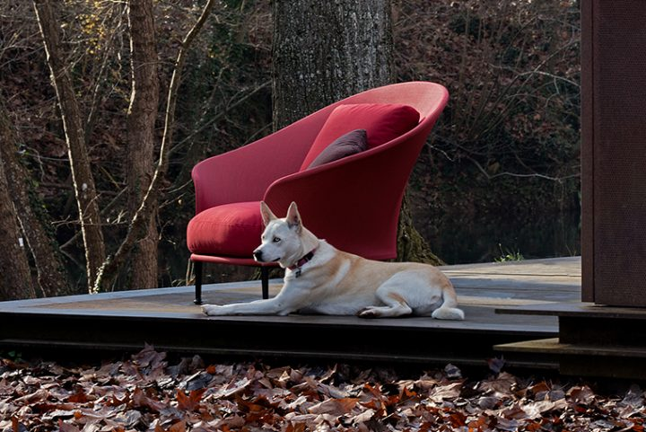 Ludovica + Roberto Palomba designed Liz, the new outdoor collection of Expormim inspired by the flair of the 50's