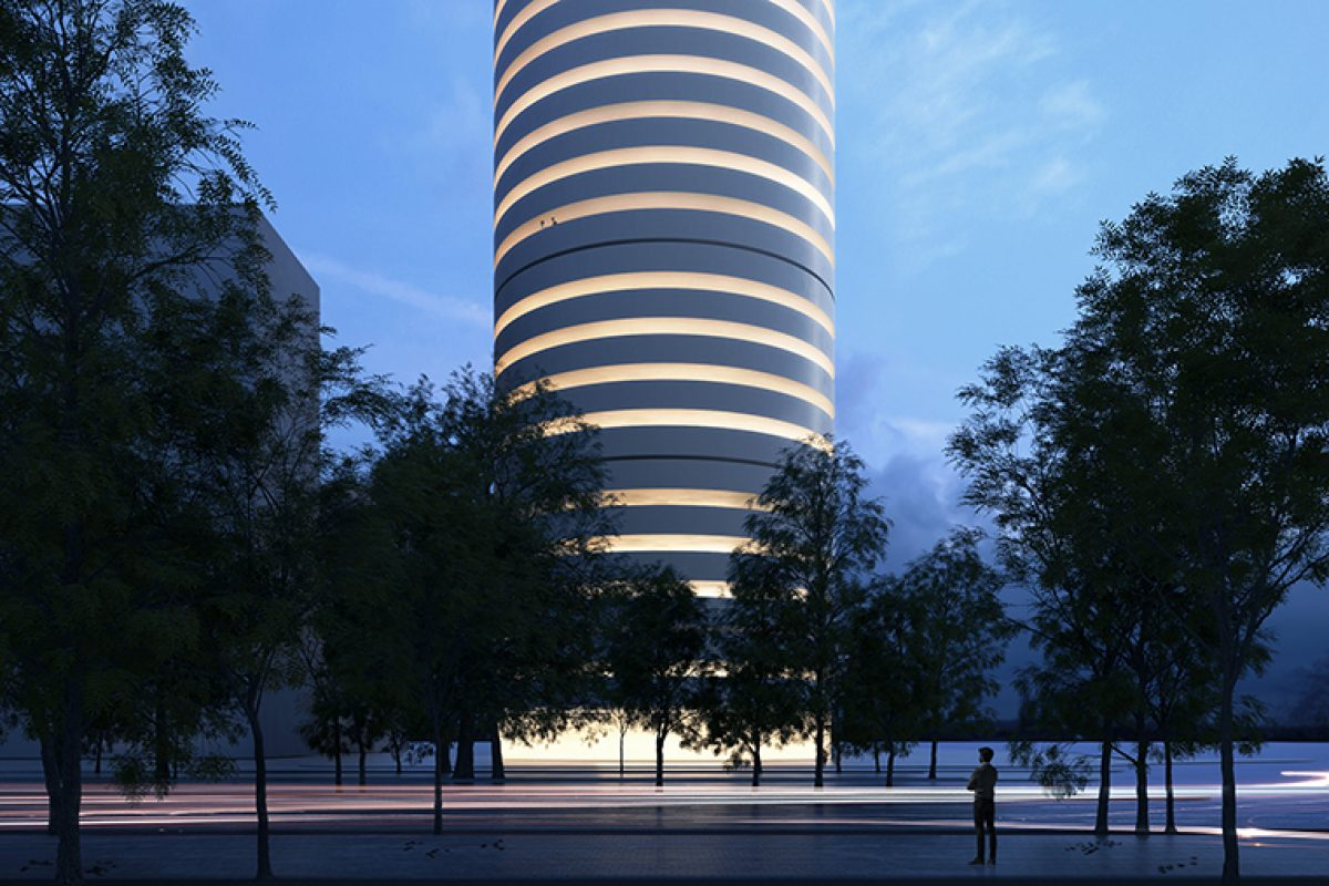 Kouros Tower, the archetypal new project finished by Fran Silvestre Arquitectos