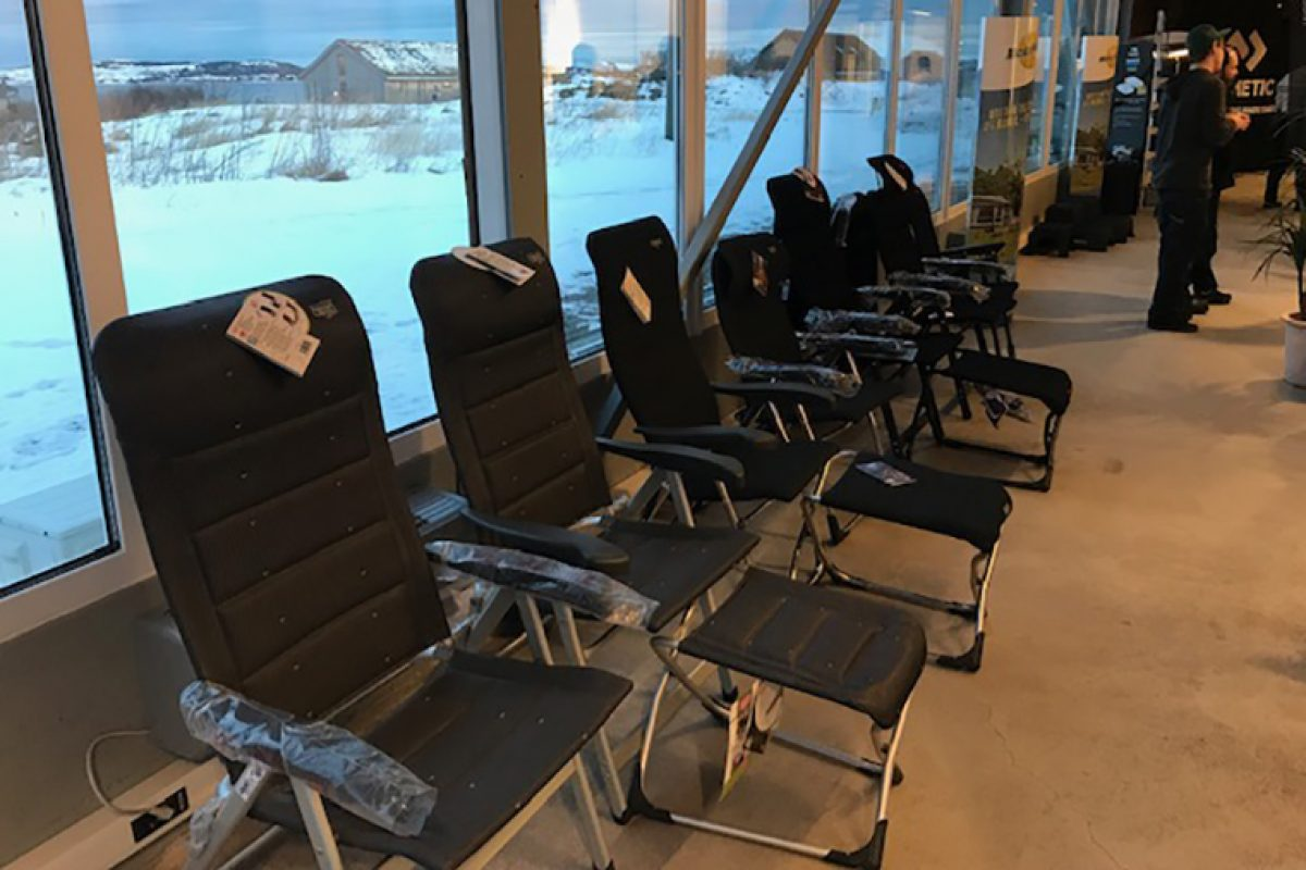 Crespo triumphs in Norway with its novelties 2019 in furniture for camping and caravanning