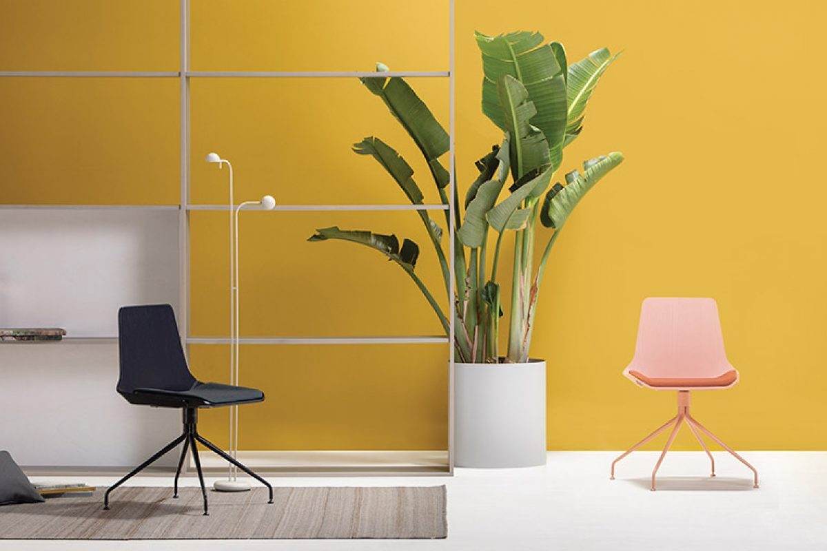 Kimmi Collection by Roger Vancells for Vergés. An expressive and chameleonic chair