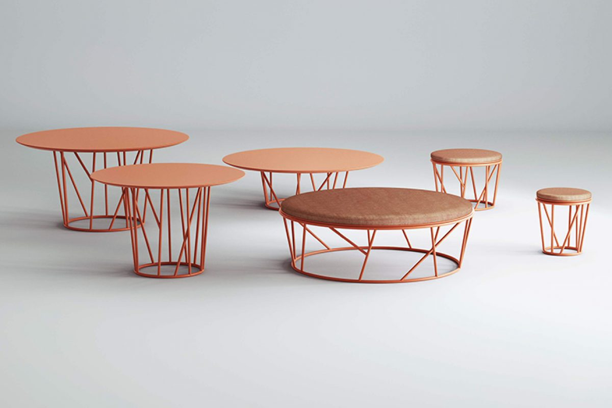 Salone del Mobile 2019 preview: Wild collection designed by Robby Cantarutti & Partners for Fast