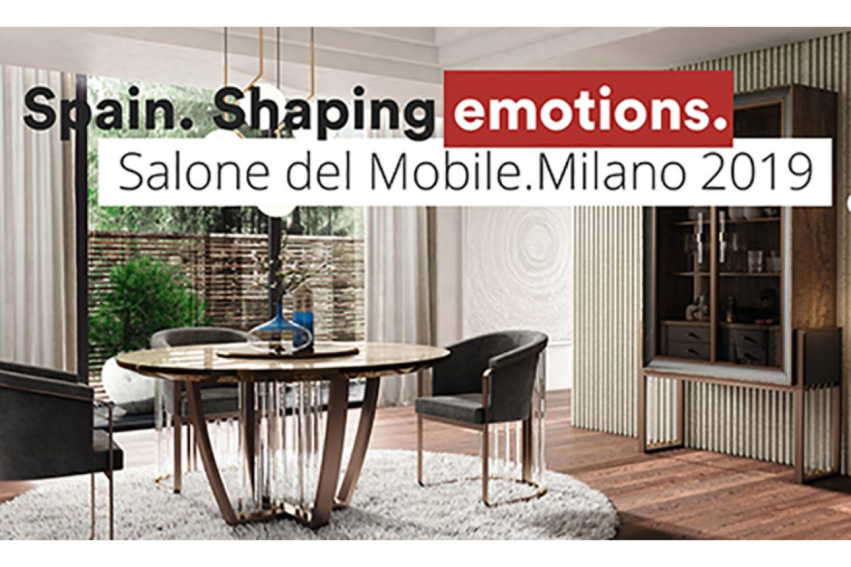The Spanish haute décor will be displayed at the xLux halls of the Salone del Mobile.Milano 2019
