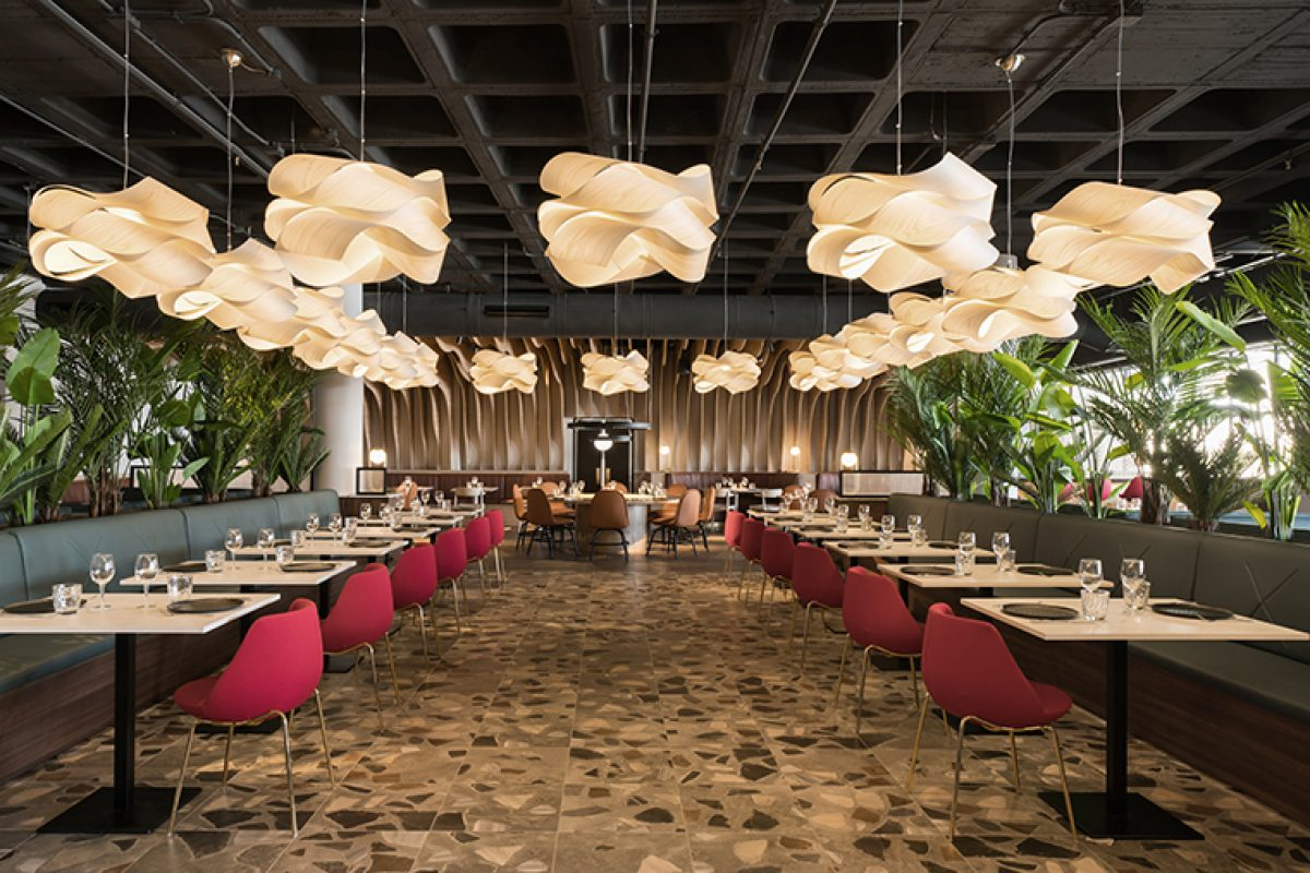 estudi{H}ac authors the interior design of three new spaces at the Piñero Group's recently opened Fantasia Bahia Principe in Tenerife