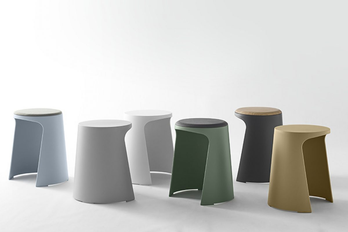 The versatility, functionality and personality of Handy, the stool designed by ARUP for Sellex