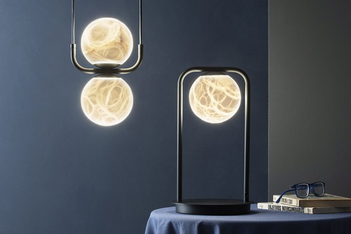 Tribeca by Jordi Llopis for Alma Light. The handcrafted lamps with an elegant Art Déco touch