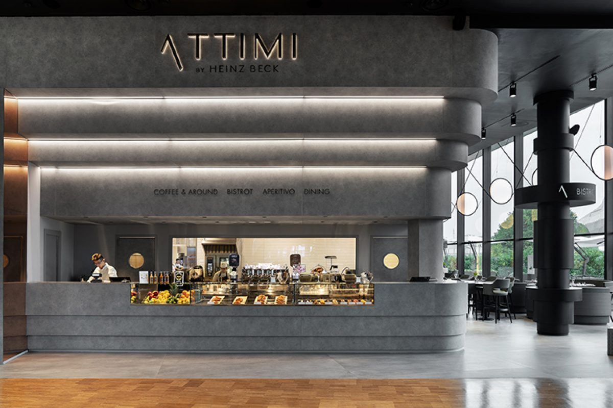 Fabio Novembre Chooses HI-MACS® for the Design of Attimi, the Heinz Beck's New Restaurant in Milan