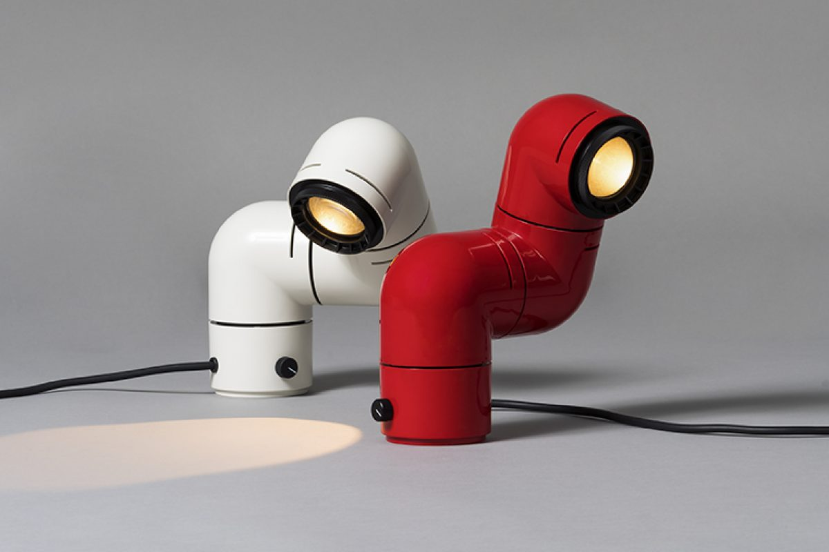 Euroluce 2019 Preview: Santa & Cole reedited the Tatu lamp designed by André Ricard in 1972. A pop-art icon