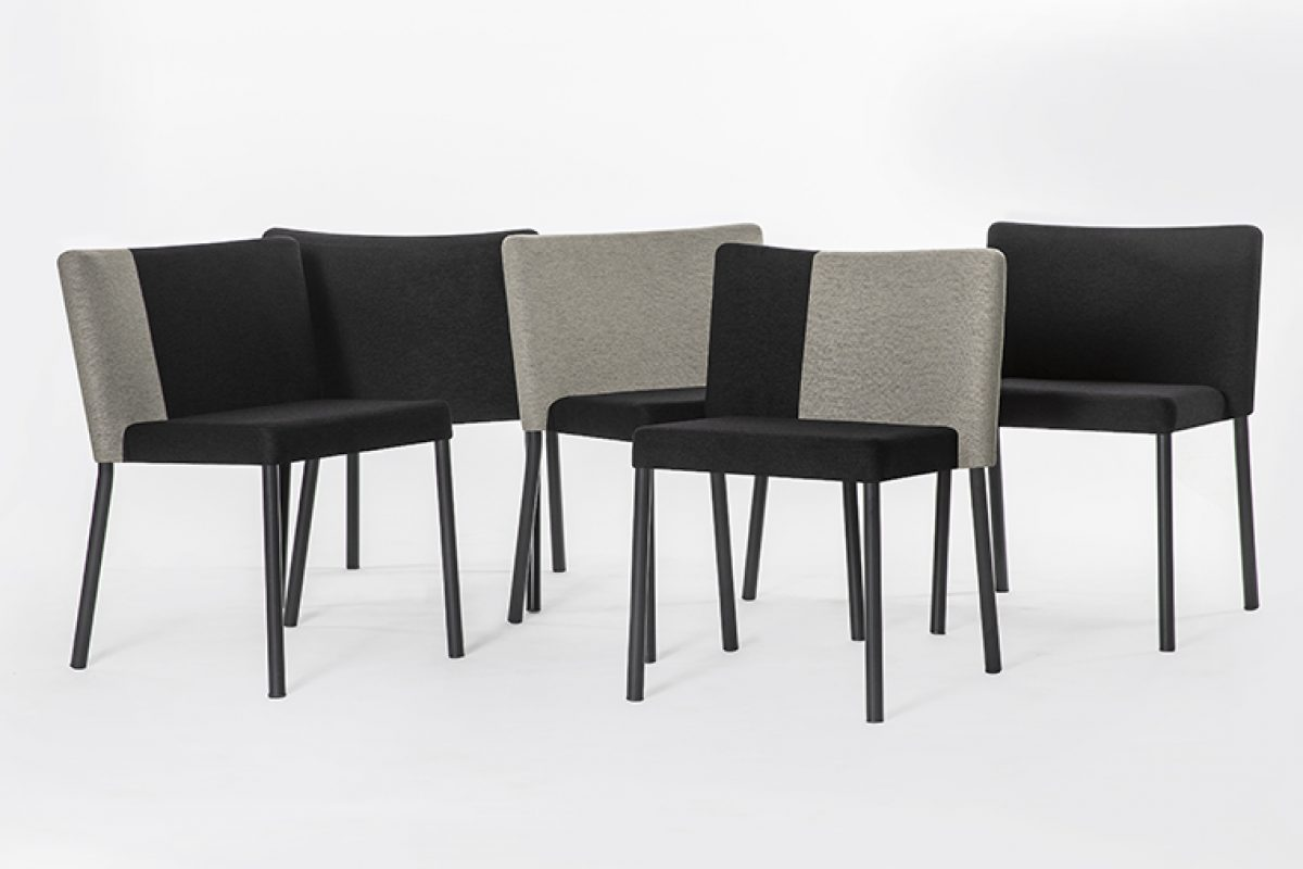 Felix Chair, the democratic design by i29 for Lensvelt company