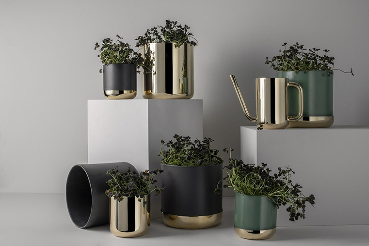 Nature Collection by Ilse Crawford for Skultuna , the elegant beauty of caring for your plants