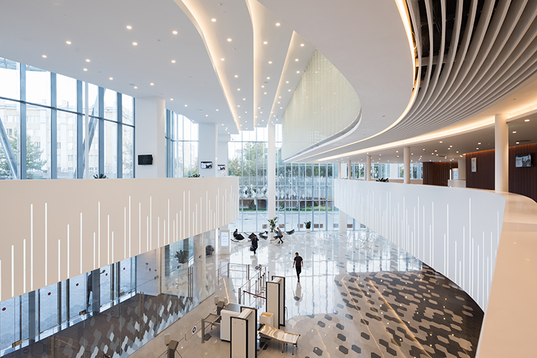 Zaryadye Concert Hall brings inspirational architecture to Moscow with HI-MACS®