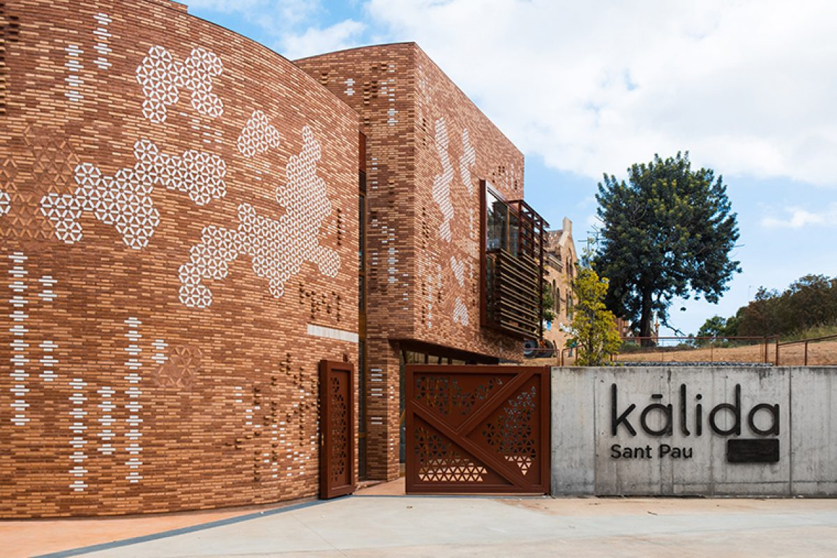 Benedetta Tagliabue in the architectural project and Patricia Urquiola in the interior design of Kālida Sant Pau, an innovative space to improve the quality of life of people with cancer