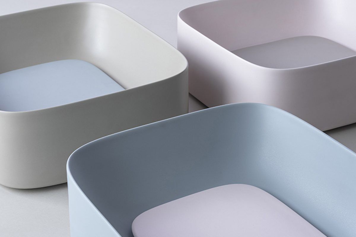 Water colours: the shifting harmony of the Acquerello sink by Valdama