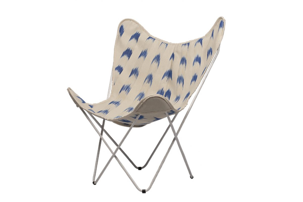 New «Isist & Vicens» exclusive collection for the iconic BKF chair with markedly Mediterranean designs